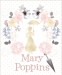 CAMELOT - Mary Poppins - Damask - PANEL - PL137