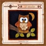 The Wooden Bear Quilt Designs: Lil Woolies September Owl
