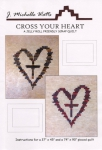 Cross Your Heart Quilt Pattern by J. Michelle Watts