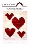 Four of Hearts Quilt Pattern by J. Michelle Watts
