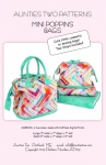 Mini Poppins Bag Pattern & Stays by Aunties Two Patterns