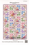 Birds and Flowers Quilt Pattern
