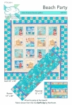 Beach Party Quilt Pattern by Kate Colleran
