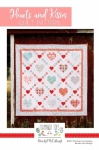 Hearts and Kisses Quilt Pattern by Flamingo Toes Designs
