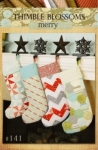 Thimble Blossoms: Merry Stockings Pattern