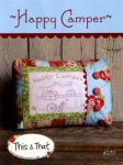 Happy Camper Pillow by Sherri Falls This & That