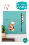 Posh Kitty Quilt Pattern by Sew Kind of Wonderful