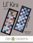 Lil Kira Table Runner Pattern by GE Designs