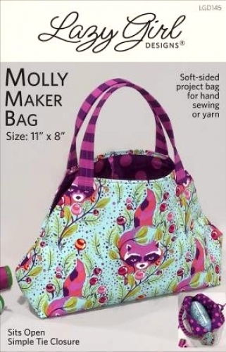 f460cab4a181 Molly Maker Bag Pattern by Lazy Girl Designs 818210001454 - Quilt in ...