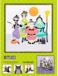 Witches Quilt Pattern by Amy Bradley Designs