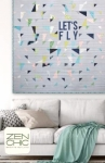 Lets Fly Quilt Pattern by Brigitte Heitland Zen Chic