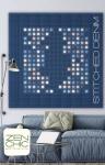 Stitched Denim Quilt Pattern by Brigitte Heitland Zen Chic