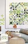 X And Plus Quilt Pattern by Brigitte Heitland Zen Chic