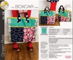 Boxcar Tote by Green Bee Designs