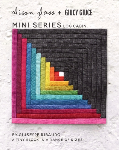 Alison Glass - Mini Series Log Cabin Block Pattern