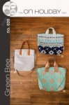 The On Holiday Bag by Green Bee Designs