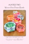 Woven Hexi Flower Bowls Pattern by Aunties Two