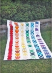 Cut Loose Press - Striped Rainbow Quilt Pattern