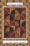 Clearance - Setting Suns Quilt Pattern by Coach House Designs