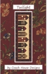Clearance - Twilight Table Runner Pattern by Coach House Designs