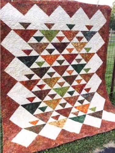 Cut Loose Press Cornucopia Quilt Pattern Clpcam020 Quilt In A