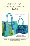 Fuse, Fold & Stitch Bags Pattern by Aunties Two