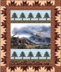 Eagle Mountains Panel Quilt Pattern by Diane McGregor
