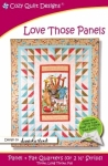 Love Those Panels Quilt Pattern by Cozy Quilt Designs