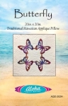 Butterfly Hawaiian Pillow Pattern by Aloha Quilt Designs