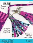Tessie Tassel Fob Pattern by Lazy Girl Designs