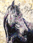 The Horse Collage Quilt Pattern by Emily Taylor Designs