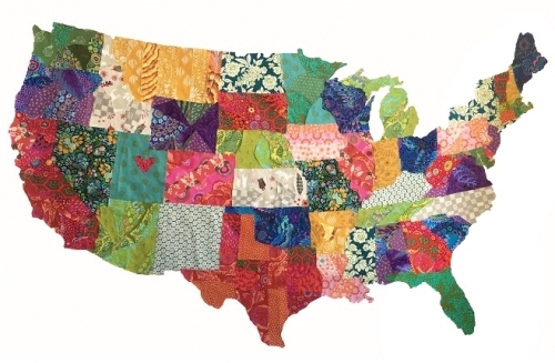 USA Map Collage Quilt Pattern by Emily Taylor Designs ... Map Collage on map slide show, map travel, map facebook covers, map creator, map pencil, map in india, map gift tags, map in europe, map still life, map de france, map making, map of college football teams, map major rivers in australia, map with mountains, map with states, map distance between cities, map of dallas texas and surrounding areas, map vintage, map in spanish, map history,