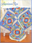 Americana Rose Quilt Pattern by Fig Tree Quilts