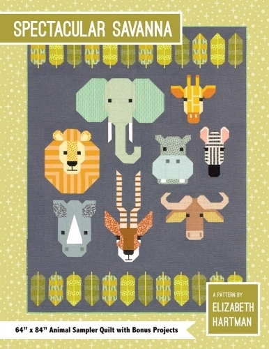 Spectacular Savanna Quilt Pattern by Elizabeth Hartman