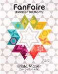 FanFaire Block Of The Month by Krista Moser The Quilted LIfe