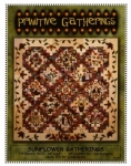 Sunflower Gatherings Quilt Pattern by Lisa Bongean/Primitive Gatherings