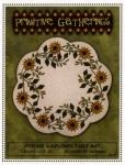 Vintage Sunflower Table Mat Pattern by Lisa Bongean/Primitive Gatherings