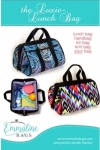 Luxie Lunch Bag Pattern by Emmaline Bags
