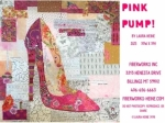 Pink Pump Collage Pattern by Laura Heine