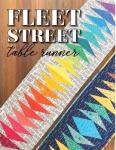 Fleet Street Table Runner Pattern by Sassafras Lane Designs