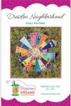 Dresden Neighborhood Mini Quilt Pattern by Persimon Dreams