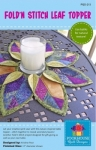 PoorHouse Quilt Designs: Fold N Stitch Leaf Topper