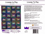 License to Play by Royal Quilt Designs