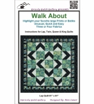 Walk About Quilt Pattern by Grizzly Gulch Gallery