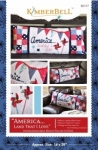 America Land That I Love Bench Pillow KimberBell Designs