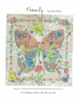Flowerfly A Butterfly Collage Pattern by Laura Heine