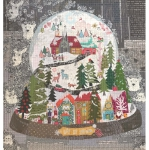 Let it Snow! Collage Pattern by Laura Heine