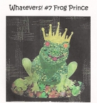 Whatevers! #7 - Frog Prince Collage Pattern by Laura Heine