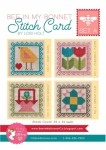 Bee In My Bonnet Stitch Cards Set A Patterns by Lori Holt