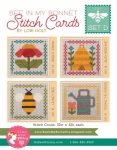 Bee In My Bonnet Stitch Cards Set D Patterns by Lori Holt